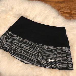 Nike running tennis skirt skort ladies Sz S